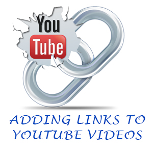 Add Links to YouTube Video